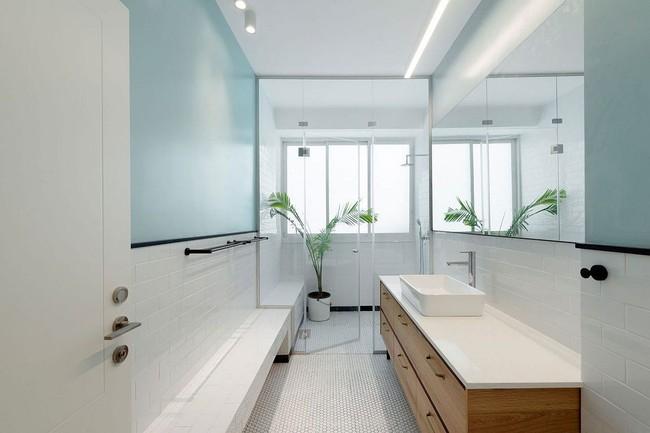 5 ý tưởng xây dựng phòng tắm trong căn hộ nhỏ giúp tối đa hóa không gian - Ảnh 2.