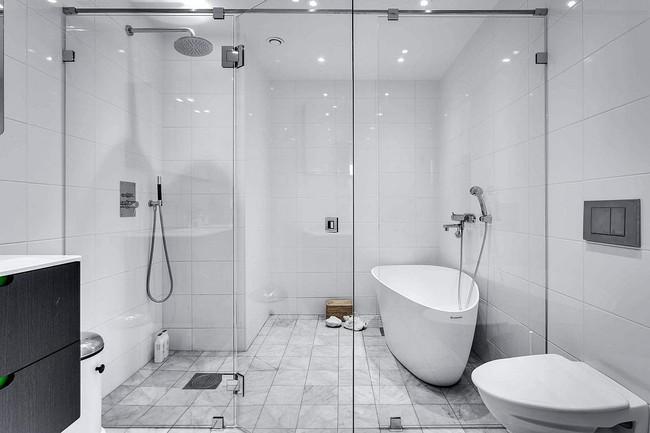 5 ý tưởng xây dựng phòng tắm trong căn hộ nhỏ giúp tối đa hóa không gian - Ảnh 20.