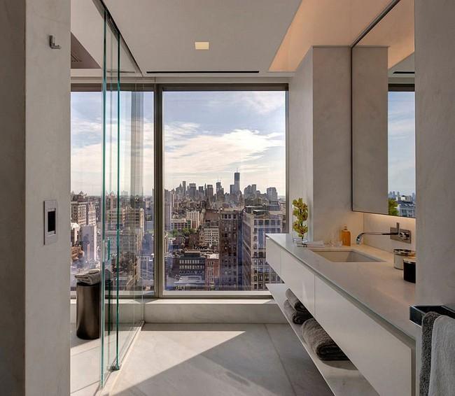 5 ý tưởng xây dựng phòng tắm trong căn hộ nhỏ giúp tối đa hóa không gian - Ảnh 22.