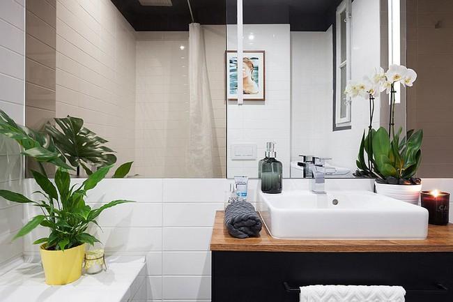 5 ý tưởng xây dựng phòng tắm trong căn hộ nhỏ giúp tối đa hóa không gian - Ảnh 23.