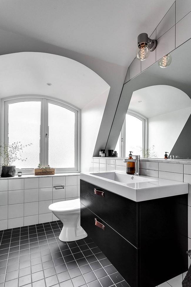 5 ý tưởng xây dựng phòng tắm trong căn hộ nhỏ giúp tối đa hóa không gian - Ảnh 24.