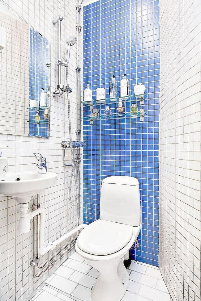 5 ý tưởng xây dựng phòng tắm trong căn hộ nhỏ giúp tối đa hóa không gian - Ảnh 4.