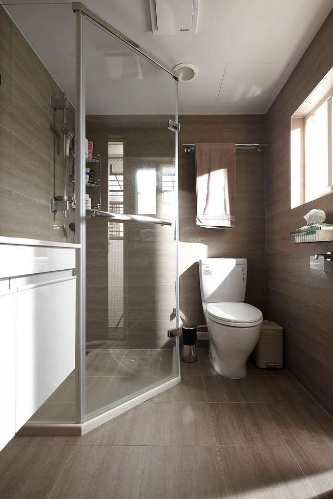 5 ý tưởng xây dựng phòng tắm trong căn hộ nhỏ giúp tối đa hóa không gian - Ảnh 7.