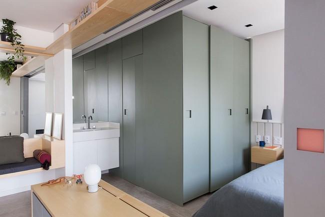 5 ý tưởng xây dựng phòng tắm trong căn hộ nhỏ giúp tối đa hóa không gian - Ảnh 8.