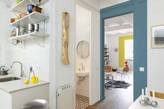 5 ý tưởng xây dựng phòng tắm trong căn hộ nhỏ giúp tối đa hóa không gian - Ảnh 9.