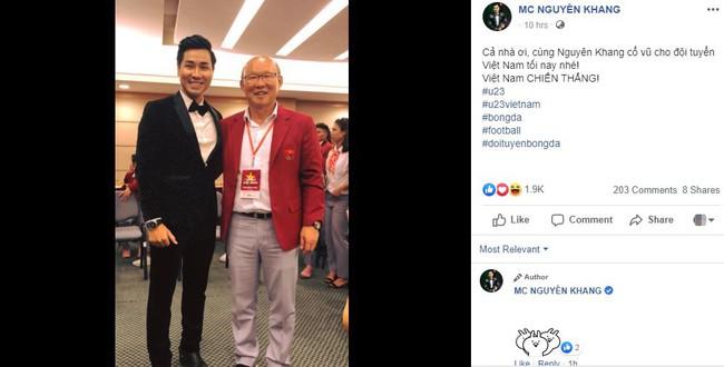 Sao Việt hết mình cổ vũ cho đội tuyển trong trận đấu kịch tính giữa Việt Nam và Malaysia - Ảnh 2.