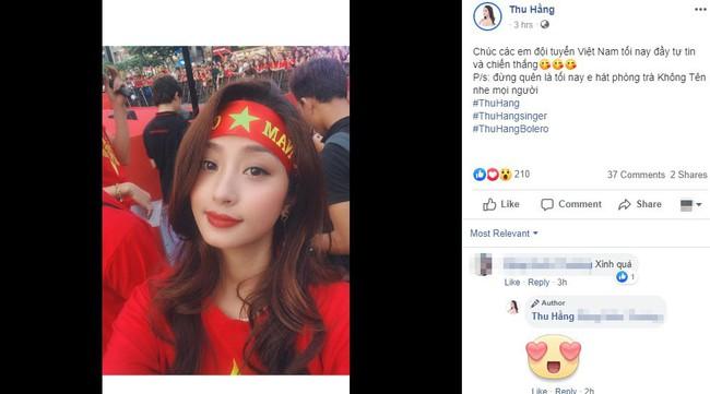Sao Việt hết mình cổ vũ cho đội tuyển trong trận đấu kịch tính giữa Việt Nam và Malaysia - Ảnh 3.