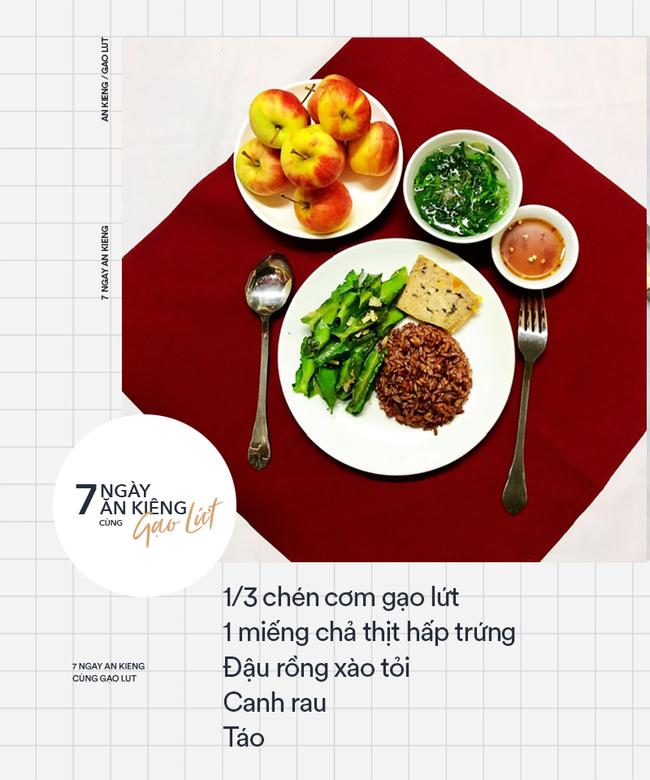 7 ngày ăn kiêng giảm cân với 7 thực đơn gạo lứt ngon - sạch - lành mạnh - Ảnh 2.