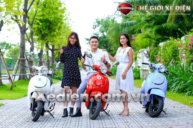Xe máy 50cc Giorno Smilexu hướng mới của giới trẻ - Ảnh 1.