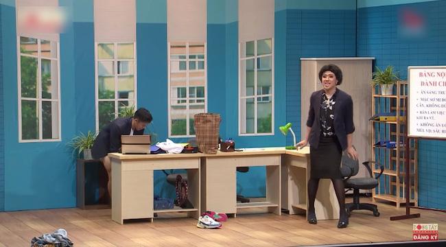 """Ơn giời cậu đây rồi: Trấn Thành, Puka phấn khích khi """"xem trộm"""" Trọng Hiếu thay quần - Ảnh 3."""
