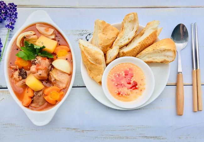 Đổi món cho cả nhà với Lagu gà mềm thơm, ăn cơm cũng ngon mà ăn bánh mì cũng tuyệt! - Ảnh 6.