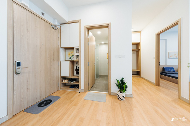 Căn hộ nhỏ thiết kế theo phong cách Nhật của cặp vợ chồng trẻ yêu thích cuộc sống an yên ở Hà Nội - Ảnh 5.