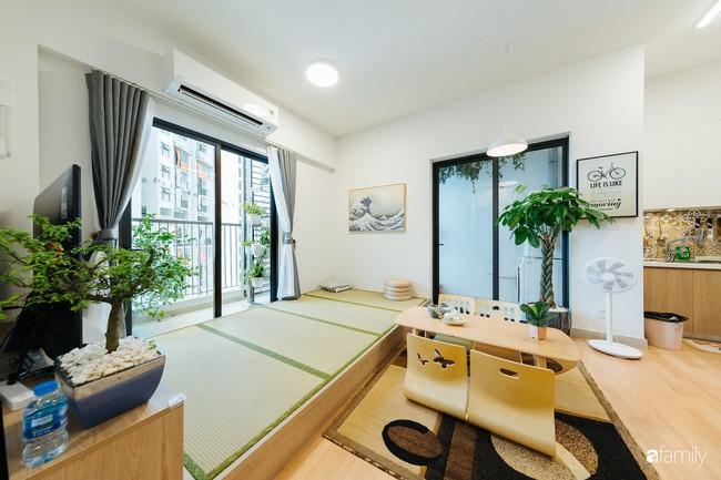 Căn hộ nhỏ thiết kế theo phong cách Nhật của cặp vợ chồng trẻ yêu thích cuộc sống an yên ở Hà Nội - Ảnh 3.
