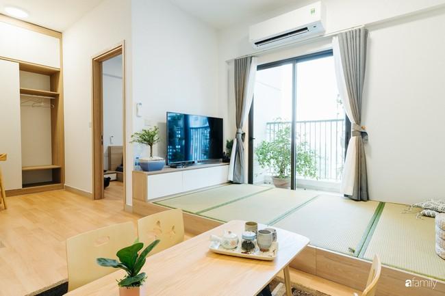 Căn hộ nhỏ thiết kế theo phong cách Nhật của cặp vợ chồng trẻ yêu thích cuộc sống an yên ở Hà Nội - Ảnh 7.