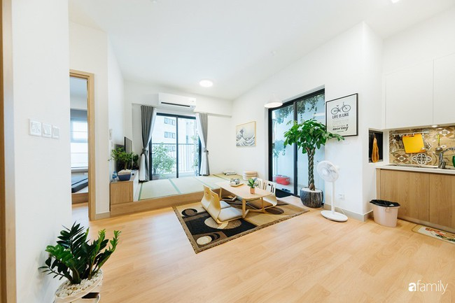 Căn hộ nhỏ thiết kế theo phong cách Nhật của cặp vợ chồng trẻ yêu thích cuộc sống an yên ở Hà Nội - Ảnh 1.