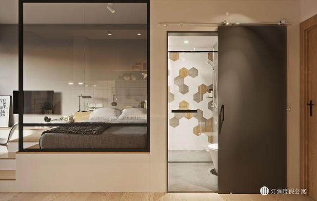Căn hộ studio 20m² nhìn rộng hơn thực tế rất nhiều nhờ thiết kế hiện đại - Ảnh 5.