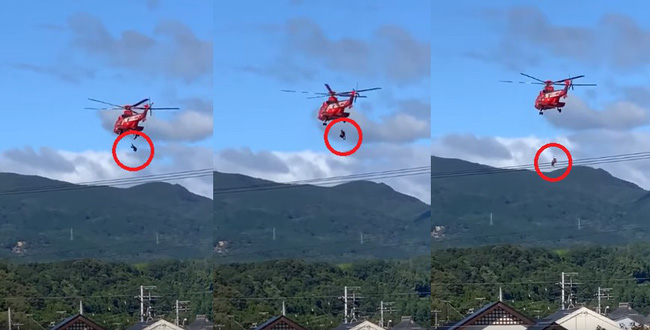 Cụ bà 77 tuổi tử vong thương tâm vì rơi khỏi trực thăng trong khi được giải cứu trong bão Hagibis - Ảnh 3.