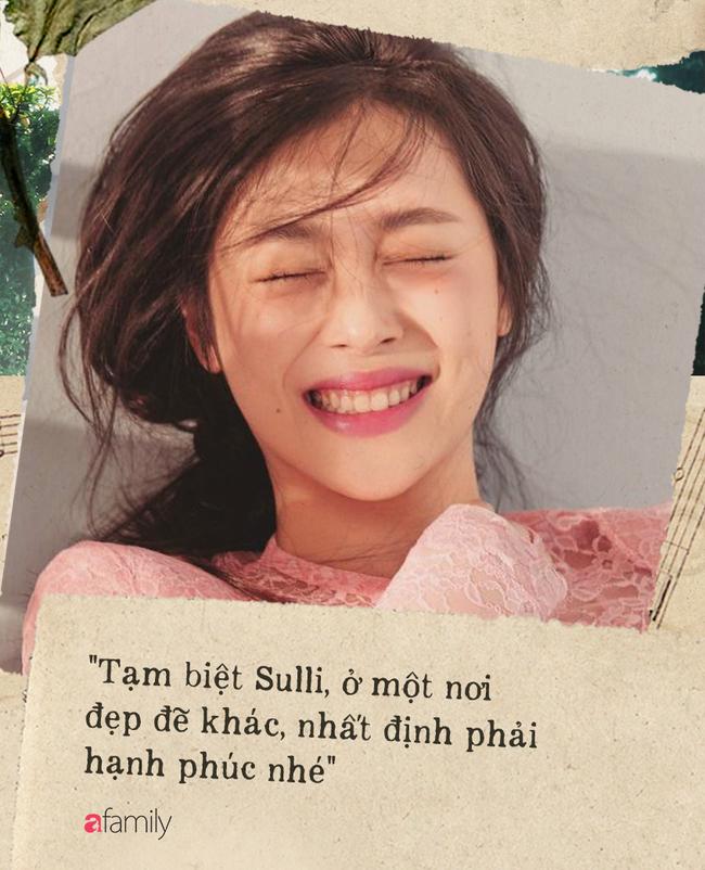 """Tạm biệt Sulli, đóa hoa lê tháng 3 rực rỡ: """"Nếu có kiếp sau thì đừng nổi tiếng nữa, cũng đừng làm thần tượng của ai, hãy chỉ là một cô gái tự do làm điều mình thích"""" - Ảnh 1."""