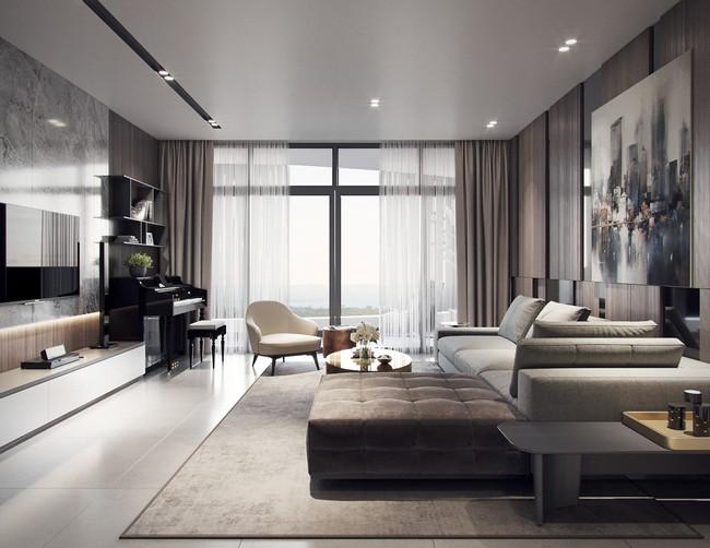 Tư vấn thiết kế nhà ở gia đình có diện tích (6x12m) cho 4 người với chi phí gần 3 tỷ đồng - Ảnh 6.