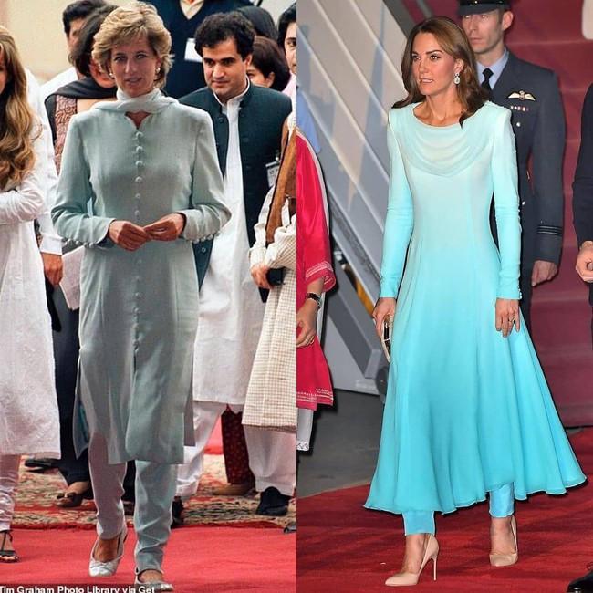 Công nương Kate gợi nhớ đến công nương Diana khi diện bộ trang phục ombre tuyệt đẹp trong sự kiện mới - Ảnh 4.