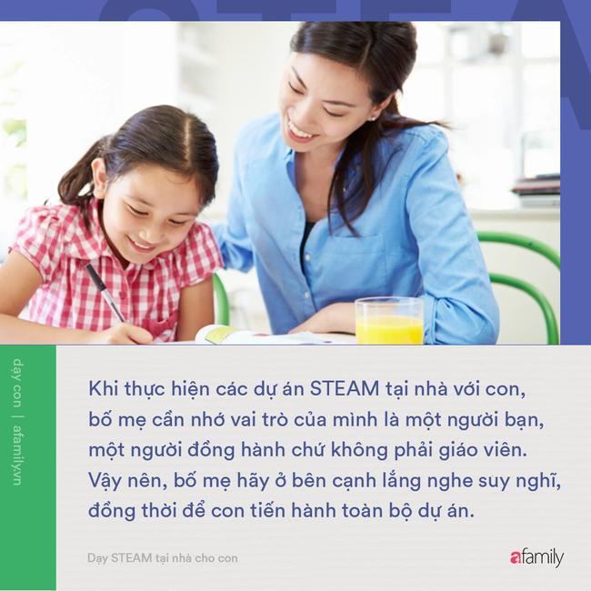 Không cần những thứ quá cao siêu, bố mẹ có thể tự dạy con phương pháp giáo dục STEAM tại nhà bằng những cách thức đơn giản - Ảnh 3.