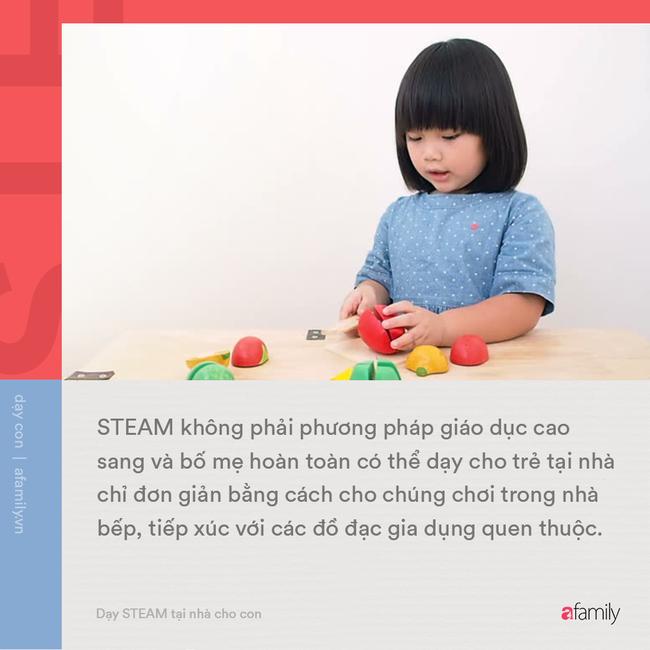 Không cần những thứ quá cao siêu, bố mẹ có thể tự dạy con phương pháp giáo dục STEAM tại nhà bằng những cách thức đơn giản - Ảnh 1.