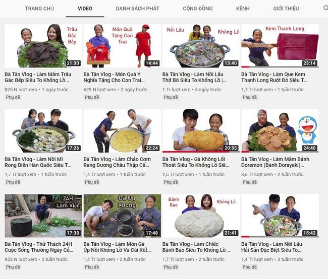 """Bà Tân Vlog và con trai bất ngờ xóa video nấu cháo trẻ em với trứng vịt lộn, đồng thời phản ứng """"lạ"""" trước lùm xùm bị tố gian dối và tham lam quá độ - Ảnh 5."""