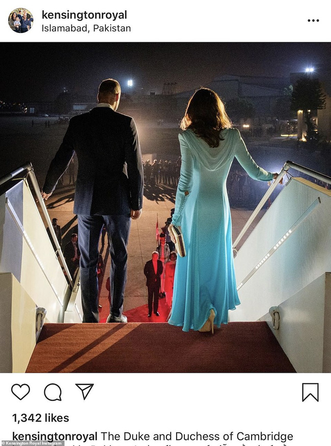"""Công nương Kate sánh vai bên chồng bắt đầu chuyến công du """"nguy hiểm"""" nhất, gây ấn tượng với vẻ ngoài gợi nhắc về mẹ chồng quá cố - Ảnh 2."""