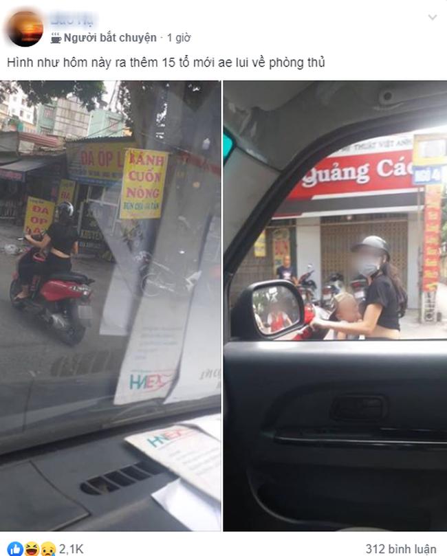 Dân mạng sốc với hình ảnh người phụ nữ vừa đi xe máy vừa ... cho con bú - Ảnh 1.