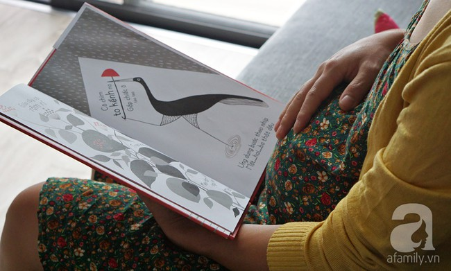 Gợi ý cách đọc sách cho con từ trong bụng mẹ để nuôi dưỡng trí thông minh cho trẻ - Ảnh 1.