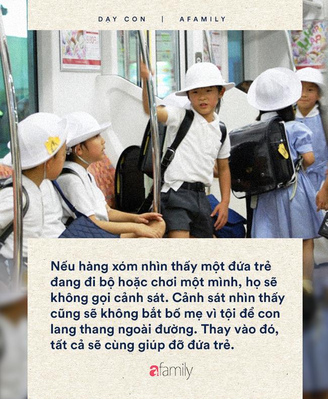 Trẻ em Nhật mới học lớp 1 đã tự làm những việc mà rất nhiều cha mẹ không dám cho con làm - Ảnh 2.