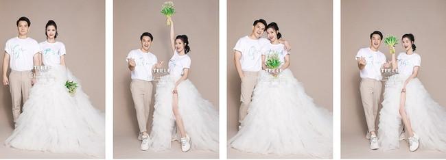Nhiều điểm giống với váy của Nhã Phương, bảo sao nhìn váy cưới của Đông Nhi thấy cứ quen quen - Ảnh 5.