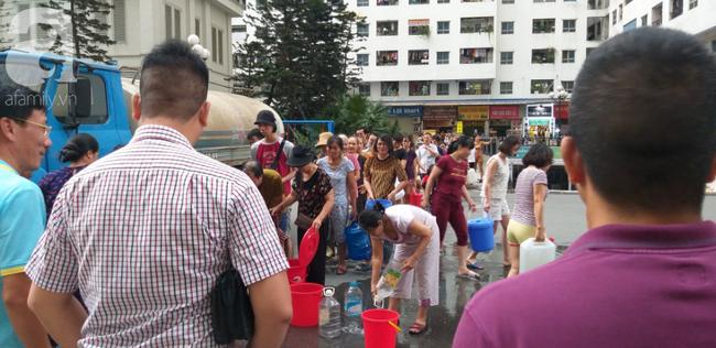 Nguyên nhân nước cấp cho HH Linh Đàm tanh, đục do xe không đảm bảo vệ sinh - Ảnh 4.