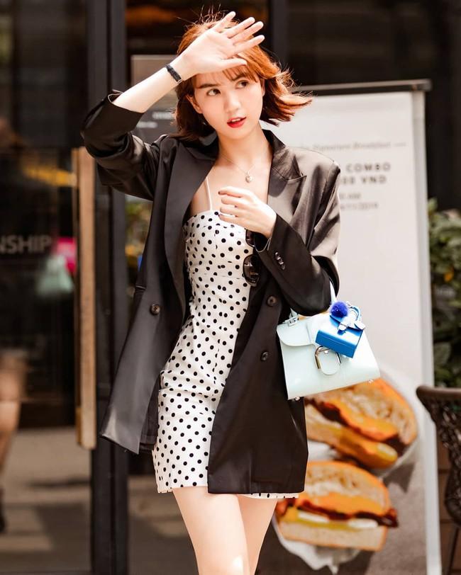 Ngắm street style của 10 sao Việt này cũng rút ra được vài kinh nghiệm mặc blazer mùa lạnh sao cho đẹp  - Ảnh 3.