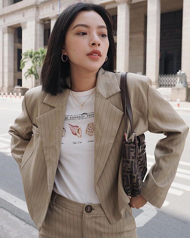 Ngắm street style của 10 sao Việt này cũng rút ra được vài kinh nghiệm mặc blazer mùa lạnh sao cho đẹp  - Ảnh 2.