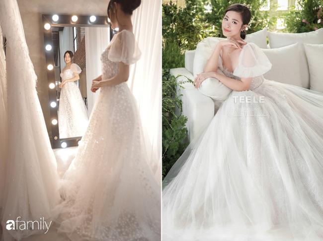 Nhiều điểm giống với váy của Nhã Phương, bảo sao nhìn váy cưới của Đông Nhi thấy cứ quen quen - Ảnh 2.
