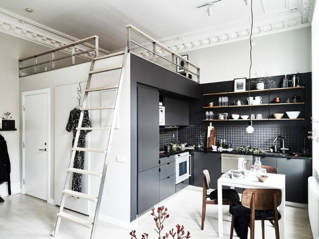 Ngôi nhà nhỏ nhưng có thiết kế cực sành điệu và thông minh đáng học hỏi - Ảnh 1.