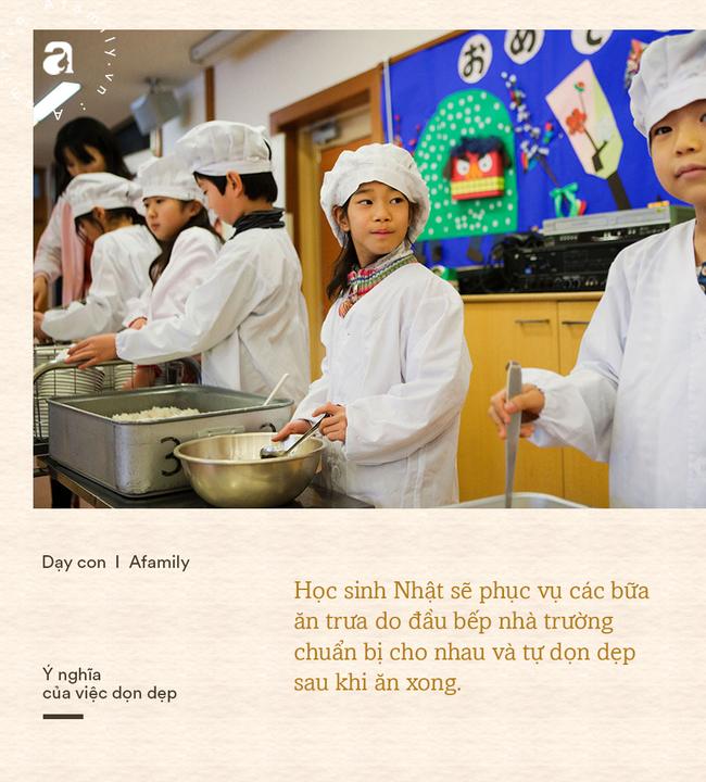 Học sinh Nhật tự dọn dẹp phòng học và nhà vệ sinh: Mục đích không chỉ để cho sạch mà còn chứa đựng cả bài học ý nghĩa - Ảnh 3.