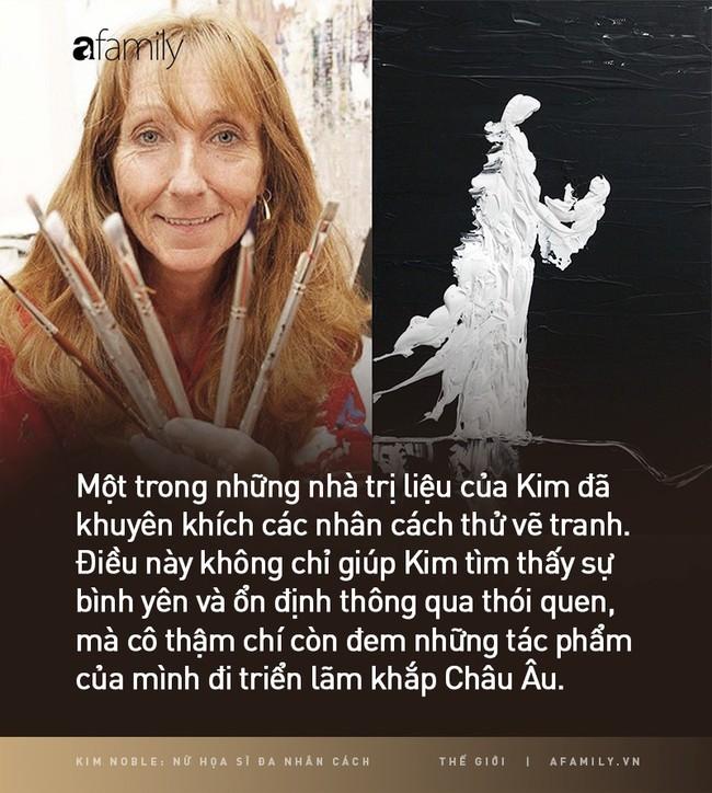 Kim Noble: Nữ họa sĩ có hơn 100 bản ngã và 14 phong cách hội hoạ từ các nhân cách khác nhau cùng chung một nỗi đau quá khứ - Ảnh 6.