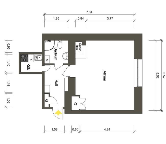Ngôi nhà nhỏ vỏn vẹn 39m2 vẫn được trang hoàng lộng lẫy, xứng đáng là công trình kiến trúc của Nga - Ảnh 17.