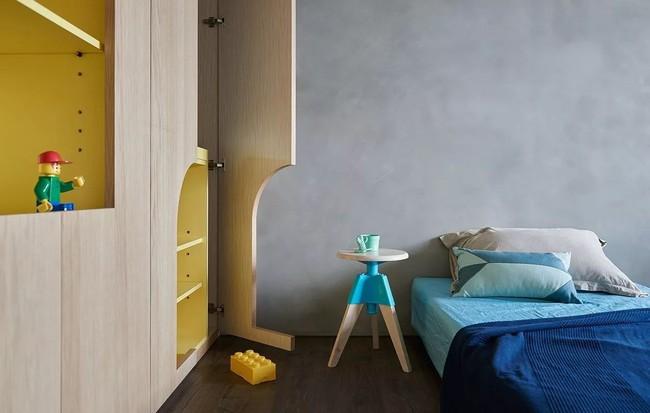 Bí mật trong căn hộ màu xanh khiến tất cả các gia đình trẻ đều hài lòng khi ngắm nhìn - Ảnh 17.