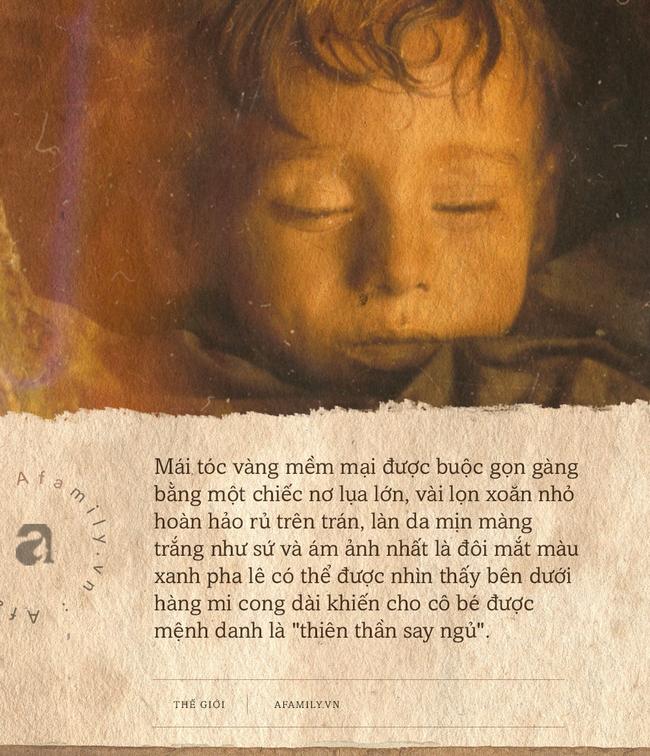 """Bí ẩn về """"thiên thần say ngủ"""": Xác ướp bé gái gần trăm năm vẫn còn chớp mắt khiến ai cũng lạnh người - Ảnh 1."""