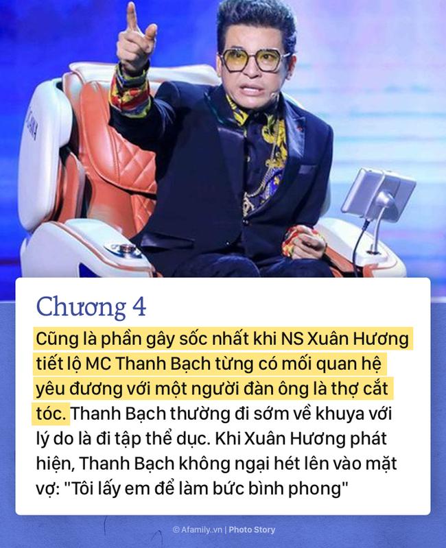 """""""Thâm cung bí sử"""" hơn 20 năm vợ chồng của MC Thanh Bạch - NS Xuân Hương qua 10 chương đầy gay cấn và """"drama"""" giật mình - Ảnh 6."""