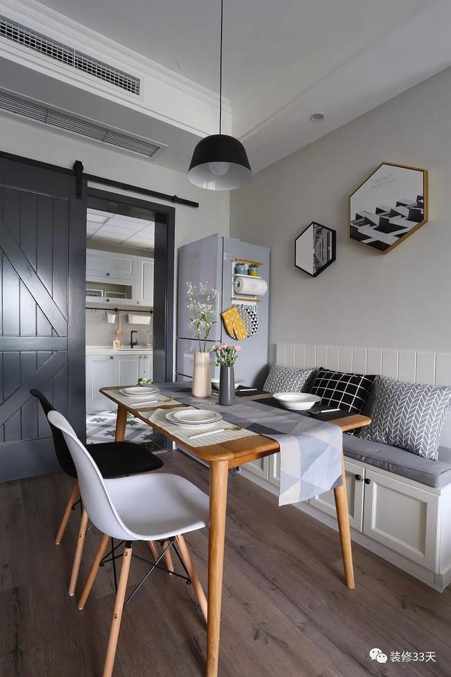 Những cách bài trí bàn ăn với đồ nội thất vô cùng nổi bật cho không gian bếp của nhà chung cư bạn nên tham khảo  - Ảnh 3.
