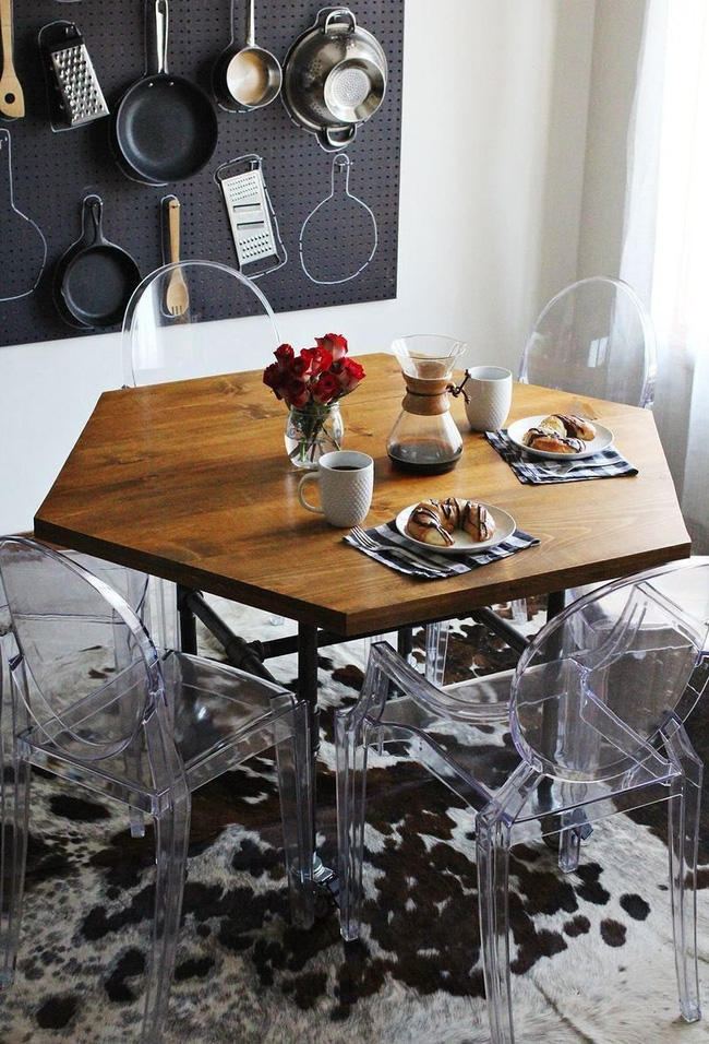 Những cách bài trí bàn ăn với đồ nội thất vô cùng nổi bật cho không gian bếp của nhà chung cư bạn nên tham khảo  - Ảnh 6.