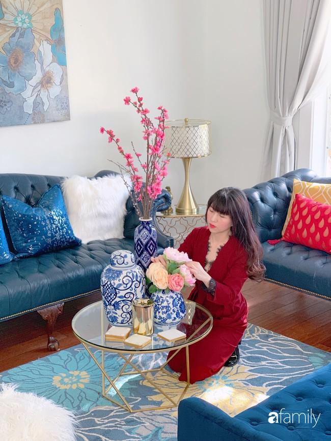 Ngắm ngôi nhà hai tầng với góc nào cũng được trang trí sang trọng, tỉ mỉ nhờ tình yêu gia đình của mẹ Việt ở Mỹ - Ảnh 8.