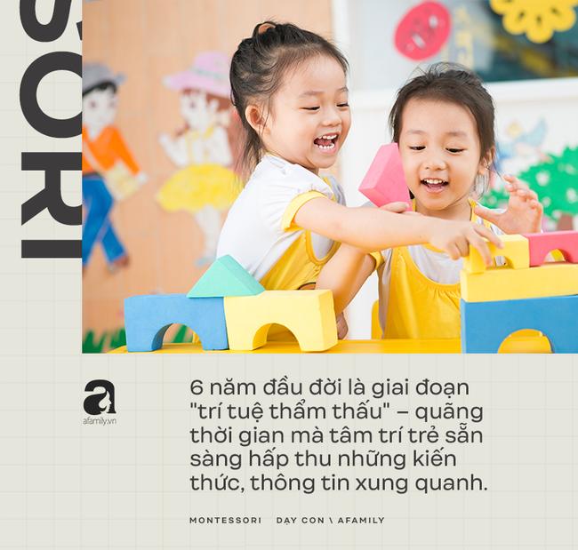 Những nguyên tắc thiết yếu của phương pháp giáo dục Montessori: Trẻ luôn được chú trọng hàng đầu - Ảnh 4.