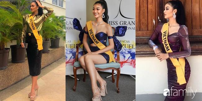 3 chiến thuật trang phục giúp Kiều Loan ghi điểm tại Hoa hậu Hòa bình Quốc tế 2019  - Ảnh 3.