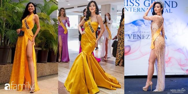 3 chiến thuật trang phục giúp Kiều Loan ghi điểm tại Hoa hậu Hòa bình Quốc tế 2019  - Ảnh 2.
