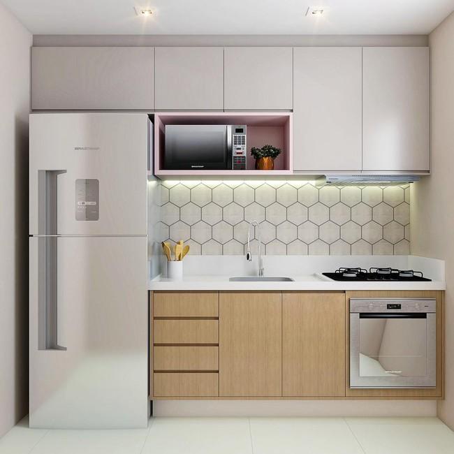 Tư vấn thiết kế căn hộ chung cư diện tích 47m2 đã ở được 5 năm cho cán bộ nhân viên nhà nước với chi phí 100 triệu đồng - Ảnh 3.